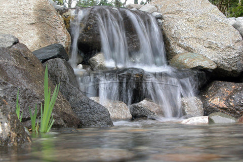 Ultimate pondless waterfall and pool is easy to install and easy to clean