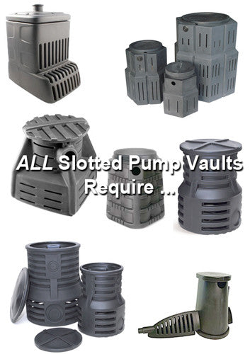 The problems with slotted pump vaults