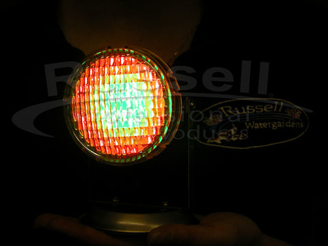 Multi-color LED Underwater Light: Red, Green, Amber