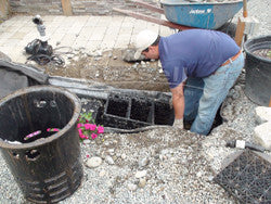 Removing a gravel filled pondless basin is called a basin-ectomy