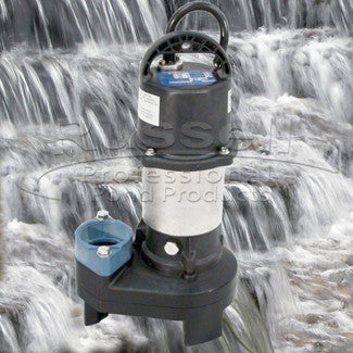 Ahi Series small pondless waterfall kit with SH-2700 submersible pump