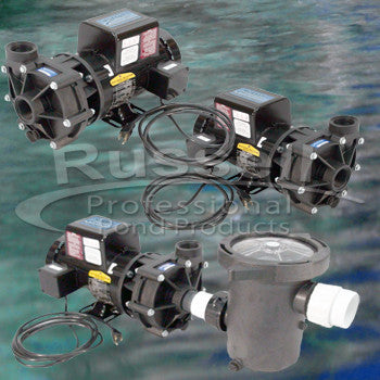 Small external pond pumps