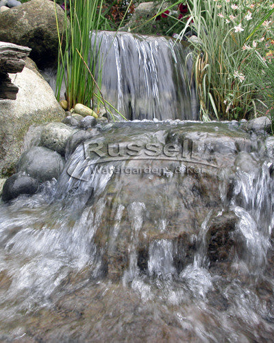 Ahi Series Ultimate small pondless waterfall with 20' stream kit