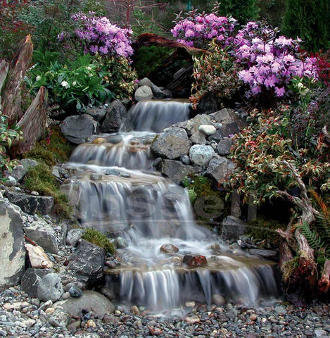 The Original pondless waterfall that kick started the revolution.