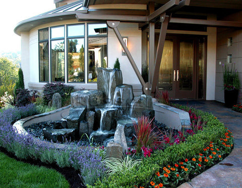 Ultimate pondless rock columns