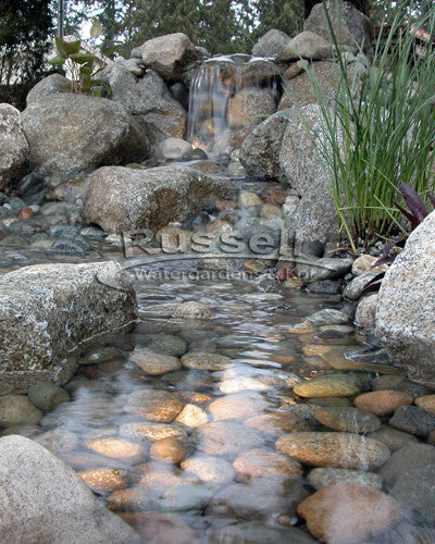 Ahi Series Ultimate small pondless waterfall with 20' kit