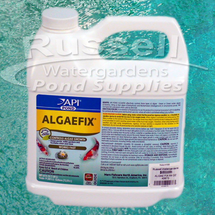 Algaefix Algae Control For All Types of Ponds and Pondless Waterfeatures
