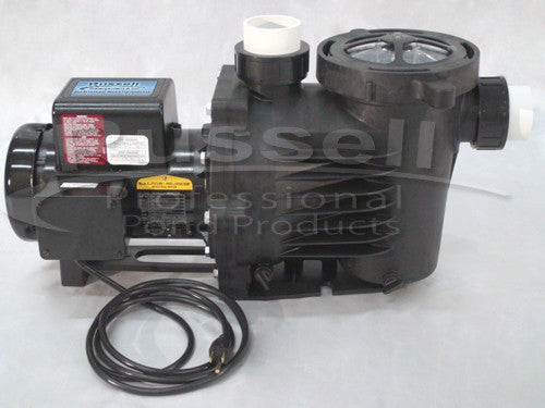 C-6300-2B self priming external pond pump is energy efficient