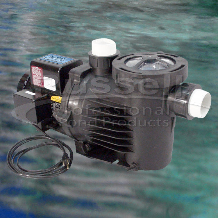 C-4620-B self priming external pond pump with built in leaf trap