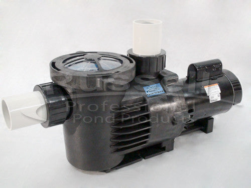 C-10680-3B high flow self priming external pond pump is energy efficient