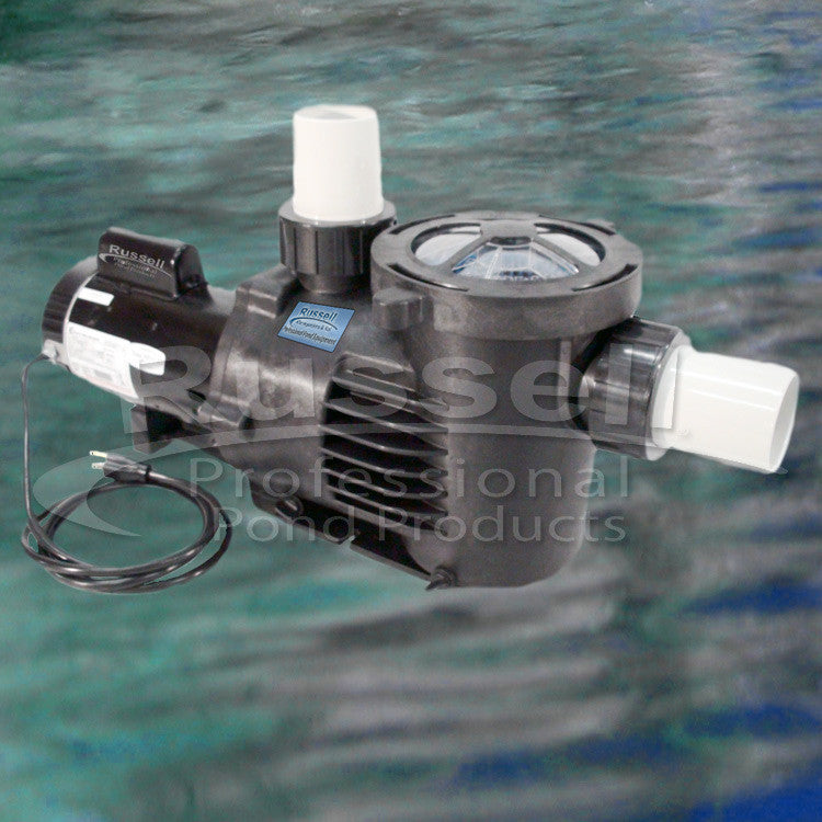 C-13080-3B high flow self priming external pond pump with built in leaf trap