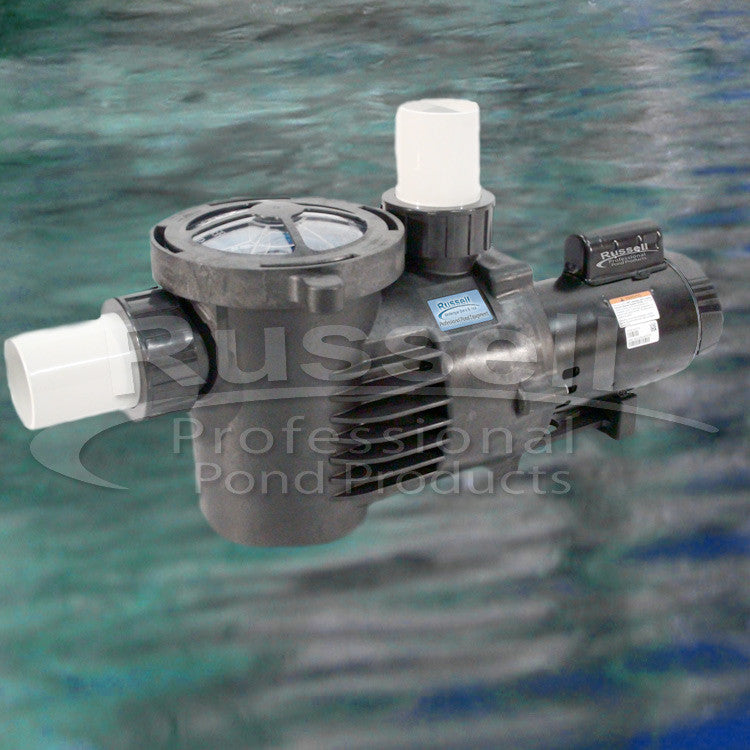 C-10680-3B high flow self priming external pond pump with integrated leaf trap