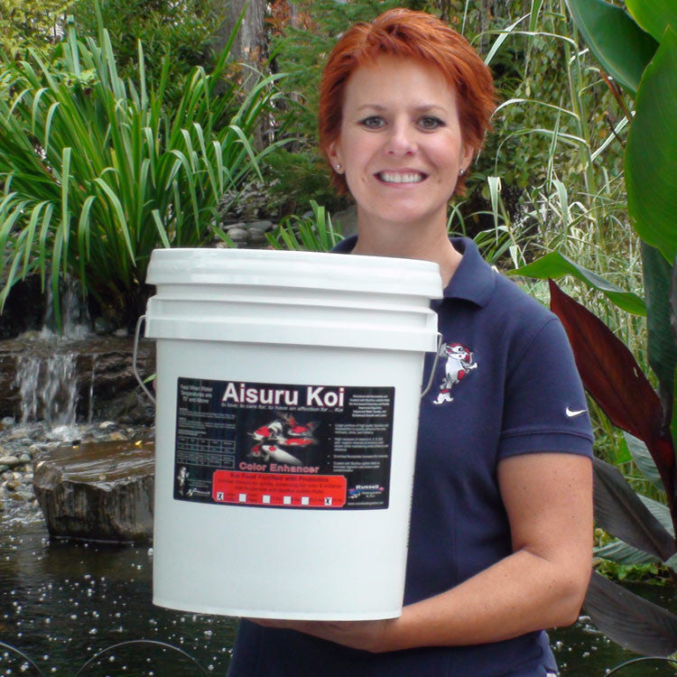 Aisuru Koi™ Color Enhancer Koi Food 15 lbs.