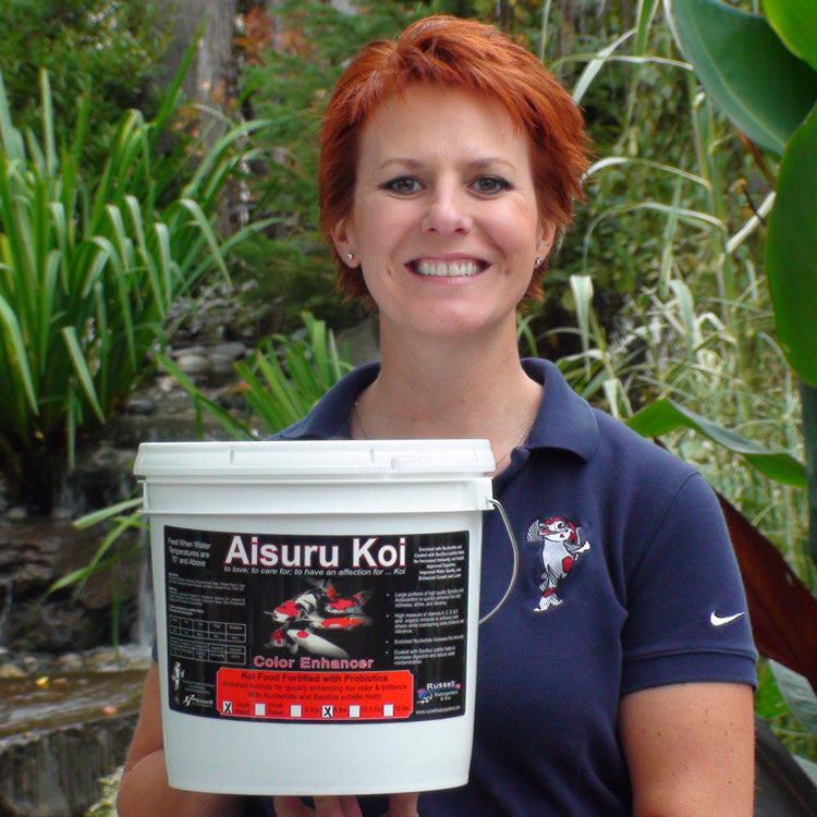 Aisuru Koi™ Color Enhancer Koi Food 6 lbs.