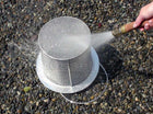 Easy to clean HydroSieve-PF pond sieve