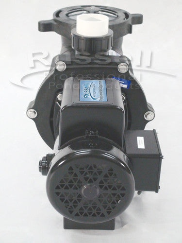 C-7500-2B self priming external pond pump is fan cooled