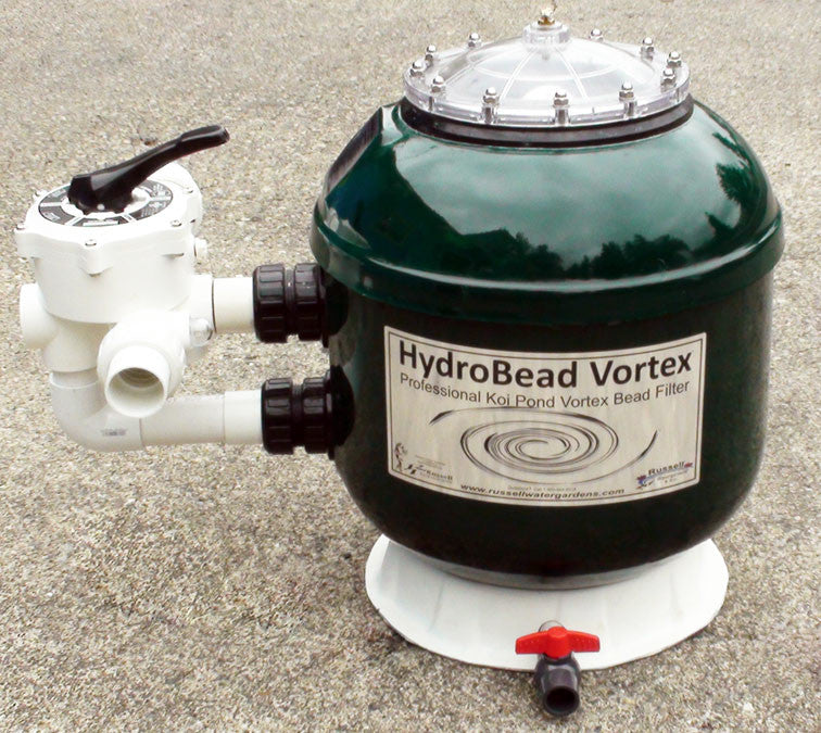 Small Koi Pond Filter: HBV-18 HydroBead Vortex Bead Filter- Efficient
