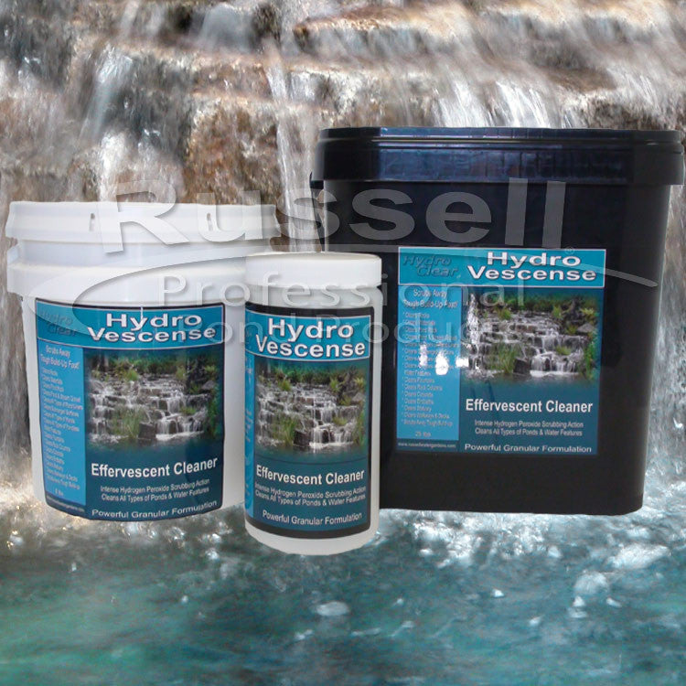Hydro Vescense™ Effervescent Pond and Rock Cleaner