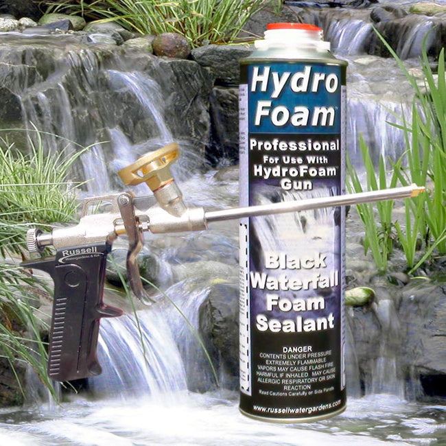 HydroFoam™ Black Waterfall Foam 32 oz. and Professional Applicator Gun