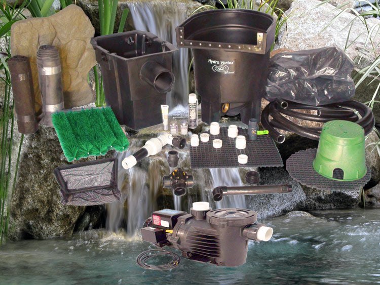 Marlin Series 8' x 11' Ultimate Water Garden Pond Kit