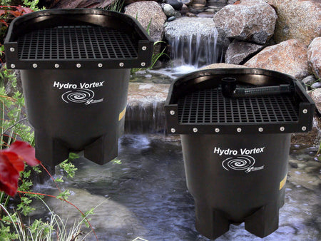 Ahi Hydro Vortex™ easy to clean small waterfall filters.