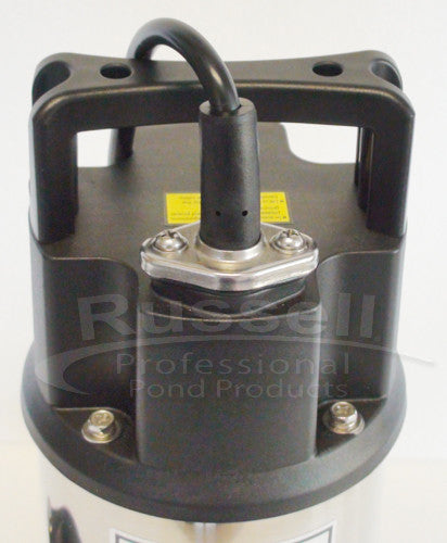 RW-2800 Pond and Waterfall Pump with leak resistant cable entry