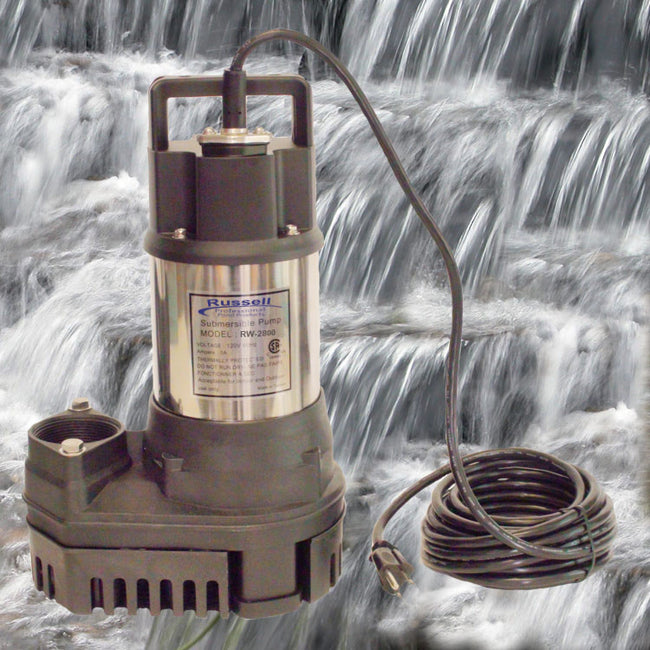 RW-2800 Pond and Waterfall Pump
