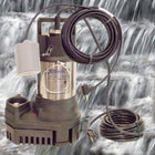 RW-3900 Pond and Waterfall Pump with optional Auto ON/OFF float switch