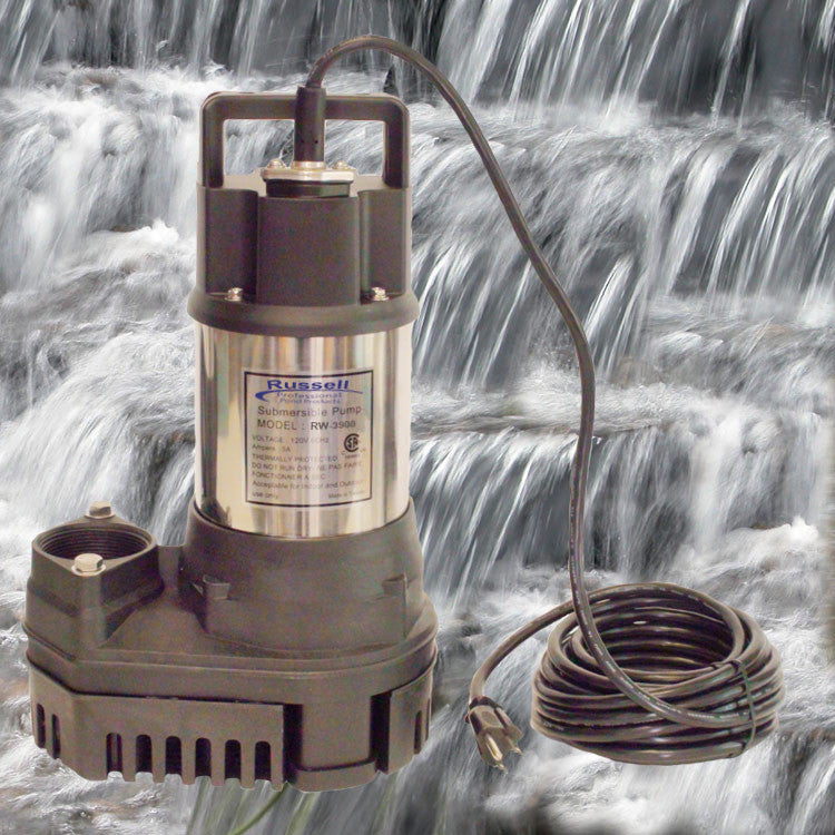 RW-3900 Pond and Waterfall Pump