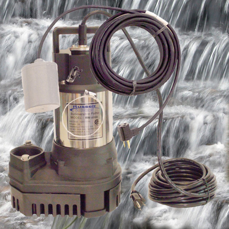 RW-4950 Pond and Waterfall Pump with removable fishguard
