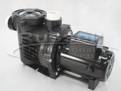 C-7500-2B self priming external pond pump is energy efficient