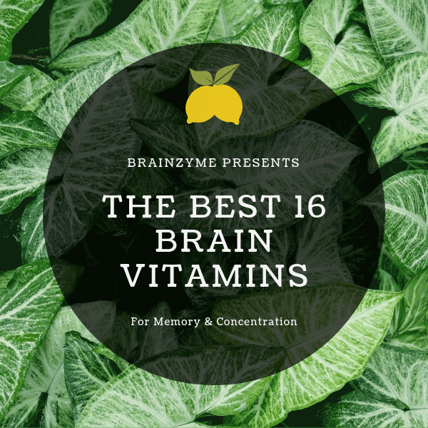 The 16 Best Brain Vitamins for Memory & Concentration in