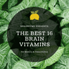 The Best 16 Brain Vitamins for Memory & Concentration in 2019