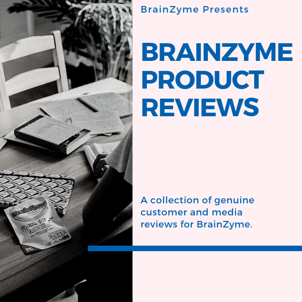 Brainzyme Product Reviews | Customers, Media & Medical Experts Share Their Thoughts