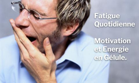 Fatigue Quotidienne : Motivation et Energie en Gélule.
