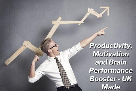 Productivity, Motivation and Brain Performance Booster - UK Made
