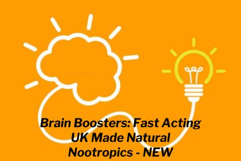 Brain Boosters: Fast Acting UK Made Natural Nootropics - NEW