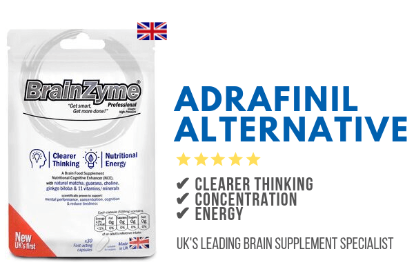 BrainZyme is a great alternative to Adrafinil