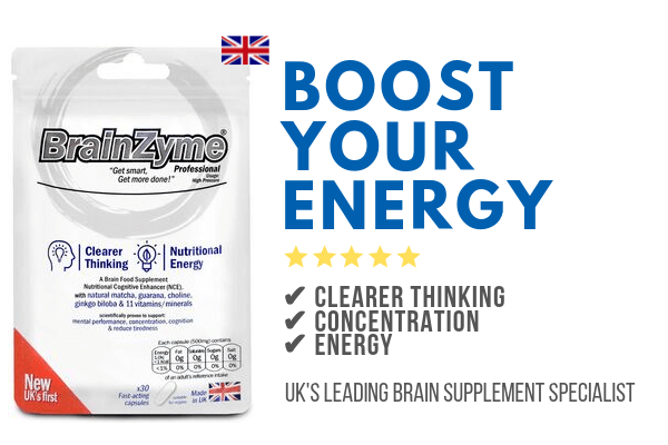 BrainZyme Professional is the best energy boosting supplement