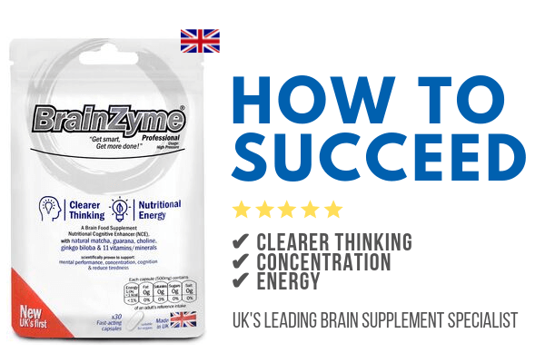 Boost your performance with BrainZyme and succeed