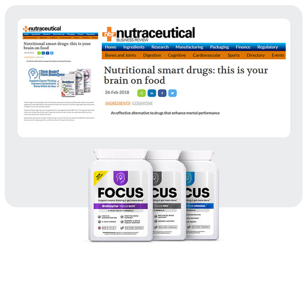 Brainzyme featured in Neutraceutical Business Review