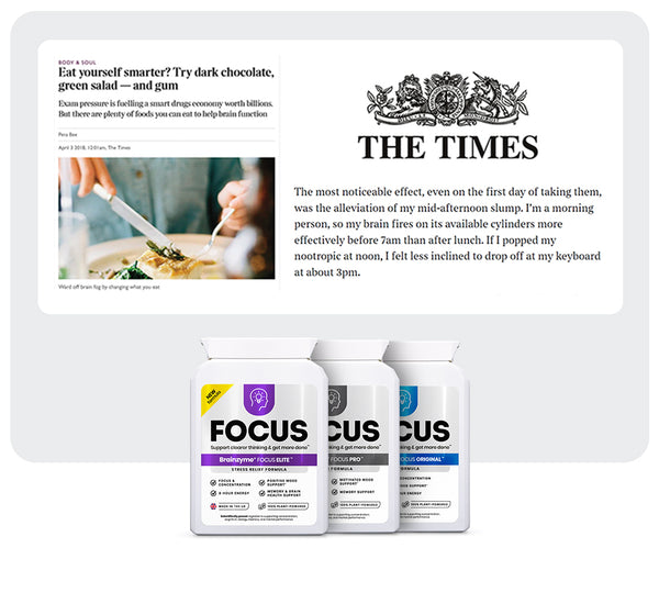 Brainzyme featured in The Times