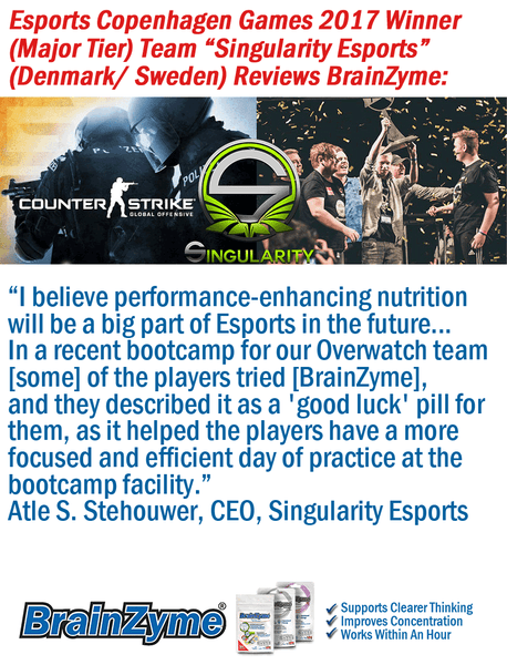 Singularity Esports Reviews BrainZyme