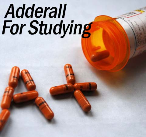 Is it worth taking Adderall pills to help you study?