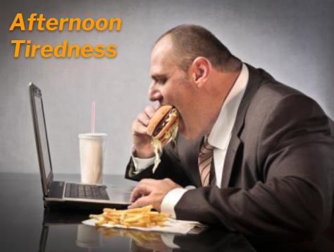 the role of diet and nutrition in tiredness