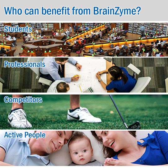 Plenty of people can benefit from our brain food supplements!