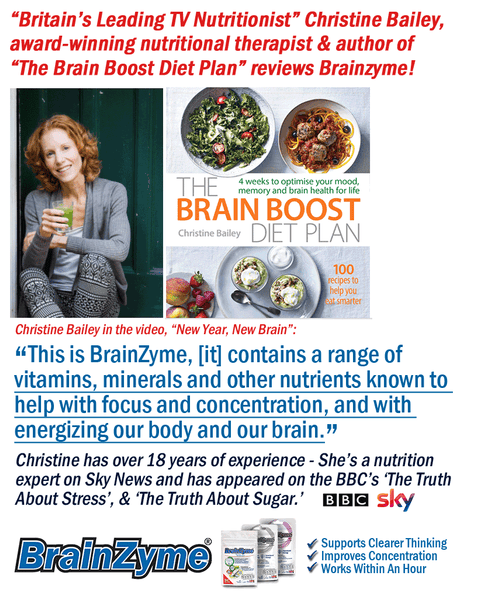 Christine Bailey reviews BrainZyme