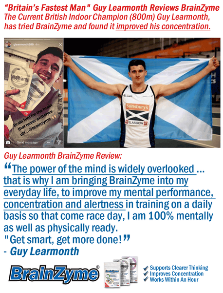Guy Learmonth Reviews BrainZyme