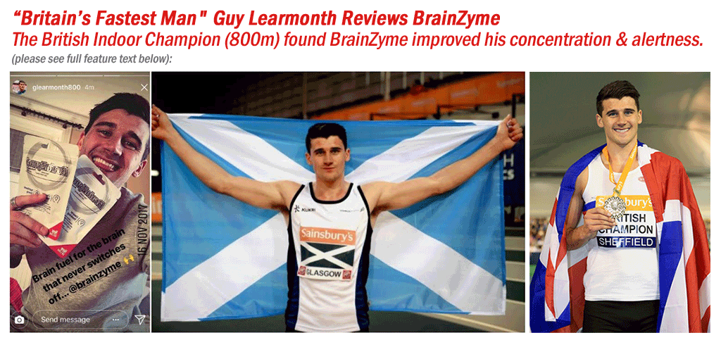 Guy Learmonth Reviews BrainZyme Brain Food Supplements
