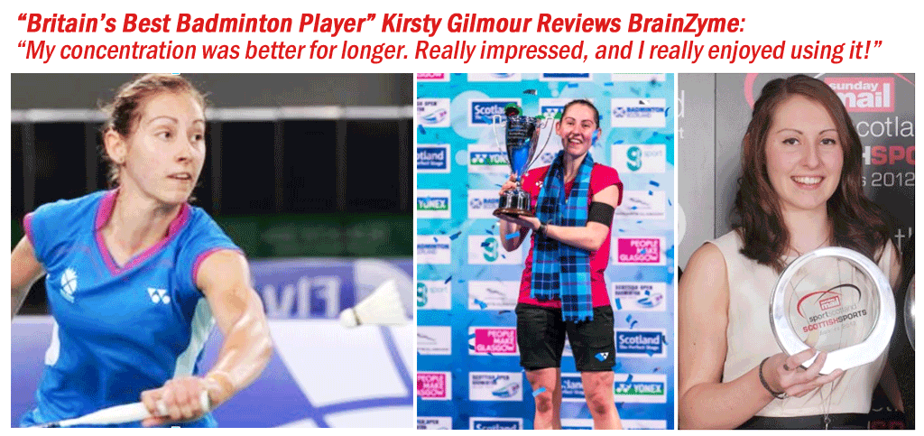 Kirsty Gilmour Reviews BrainZyme